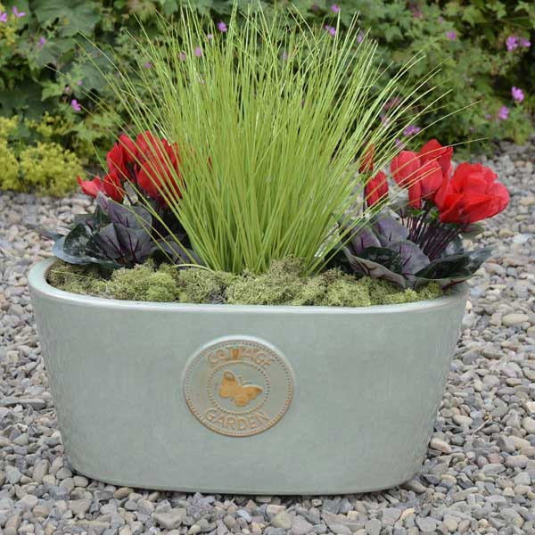 Mims Farmhouse Flower Pot