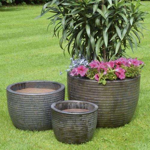 Mims Glazed Planter