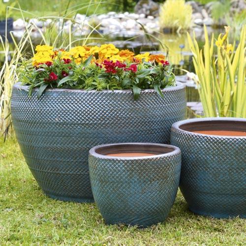 Mims Glazed Planter